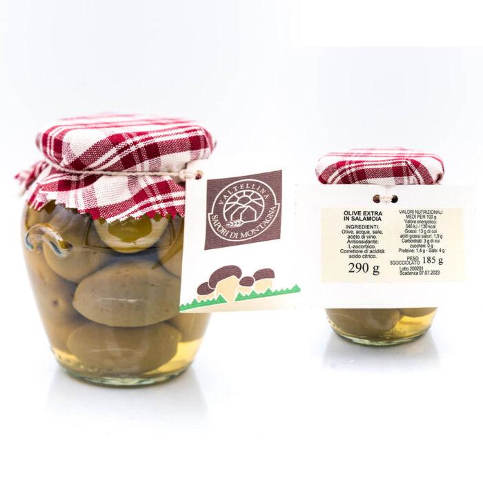 Olive extra in salamoia - Sapori di Montagna