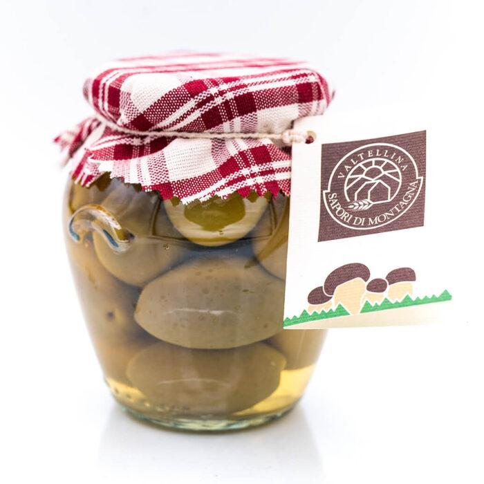 Olive extra in salamoia - Sapori di Montagna Fronte