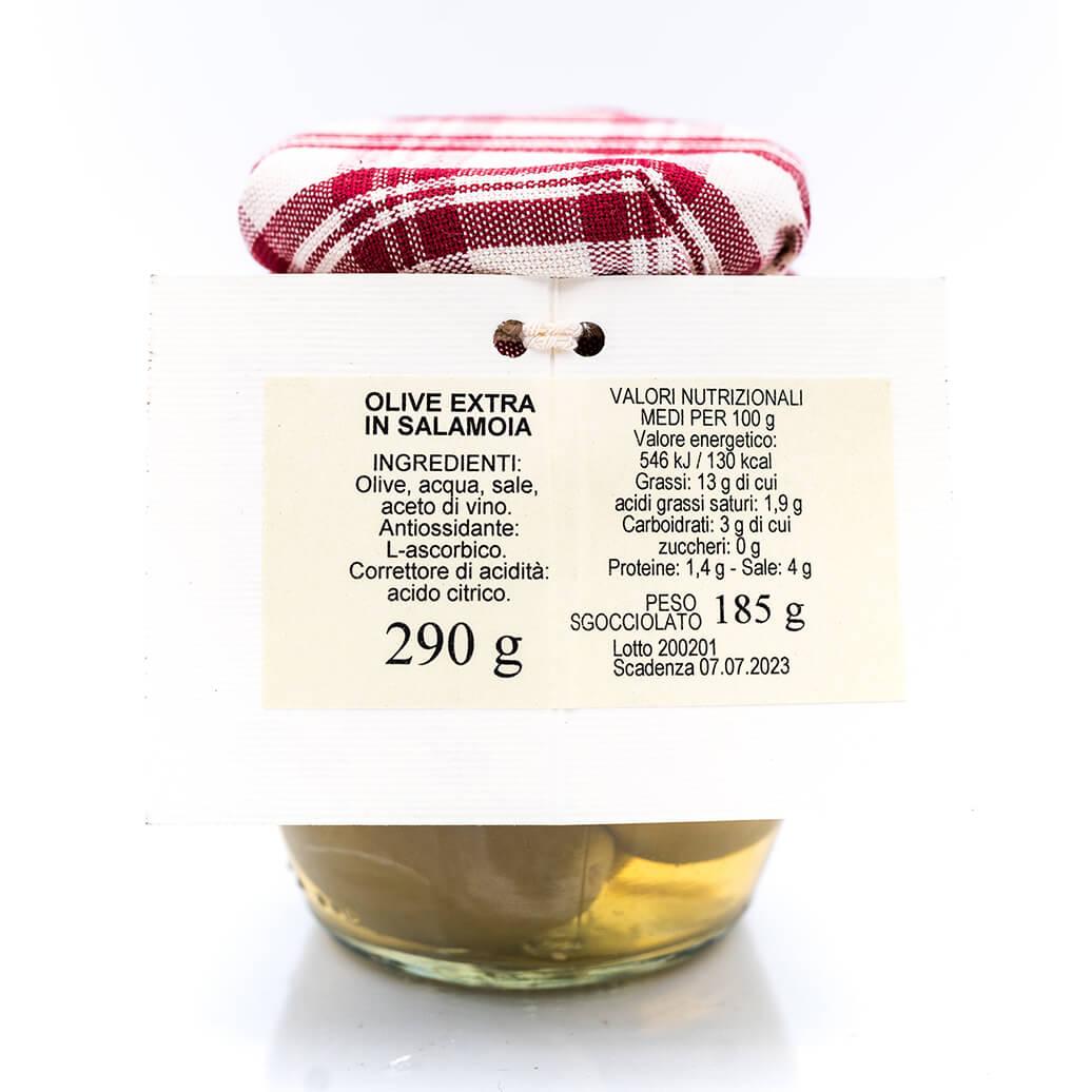 Olive extra in salamoia - Sapori di Montagna Retro