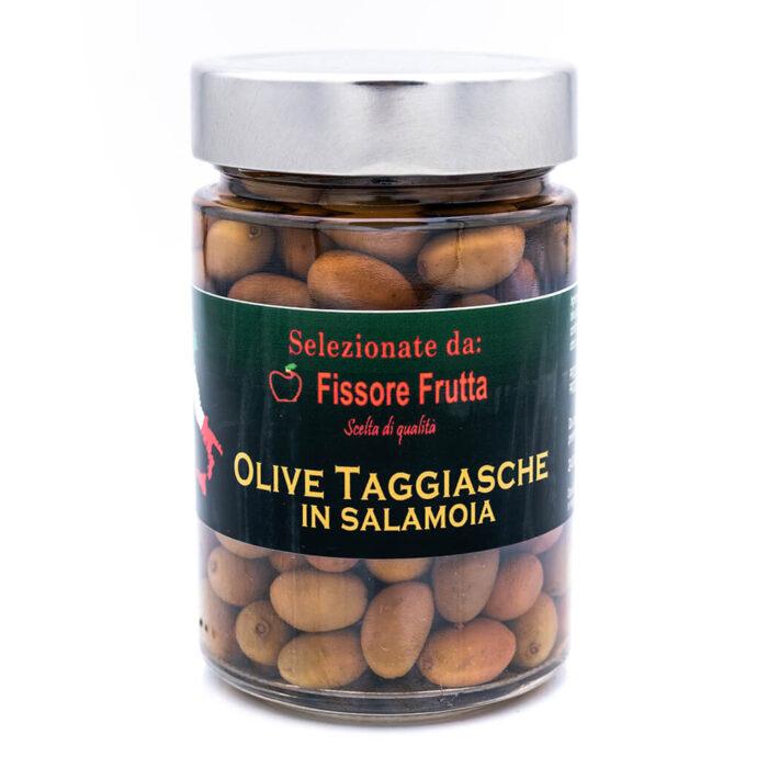 Olive taggiasche in salamoia - Fissore Frutta Fronte