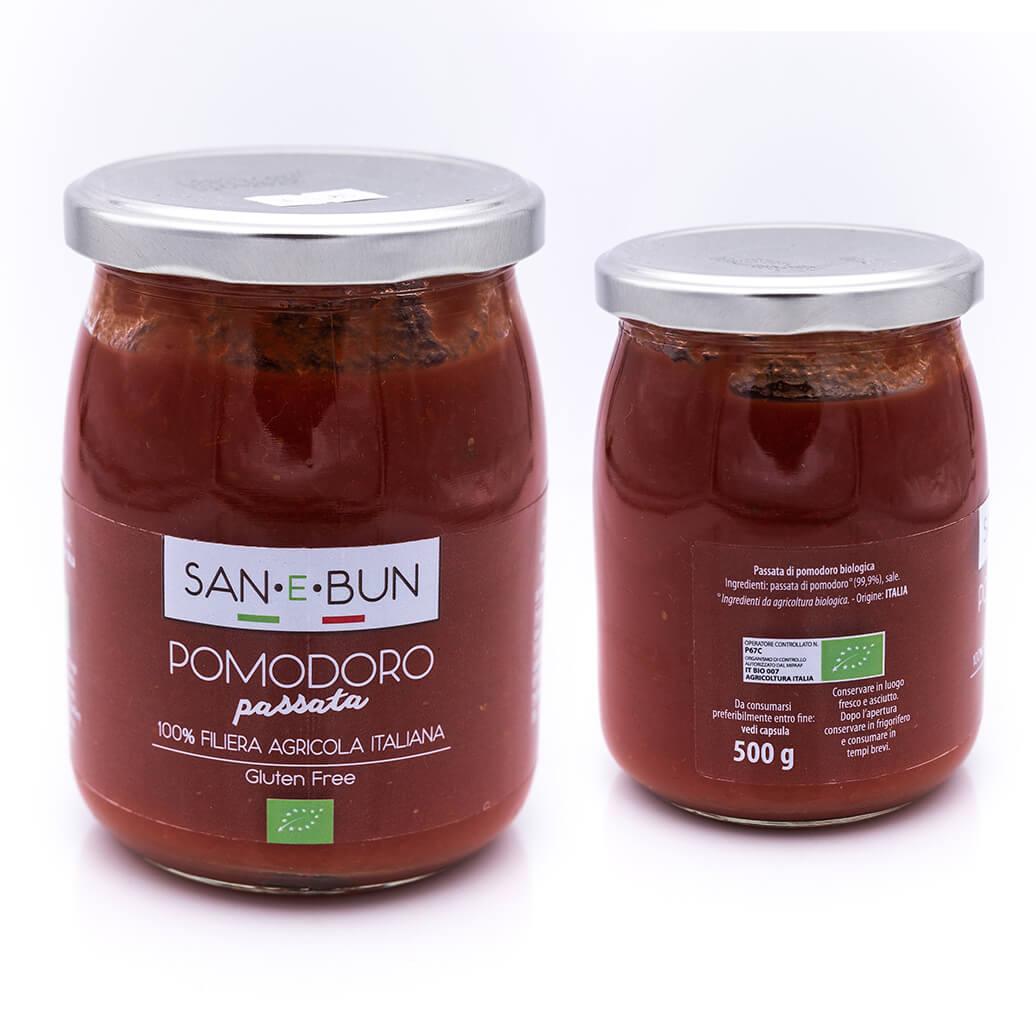 Passata di pomodoro - Biologica - San e Bun
