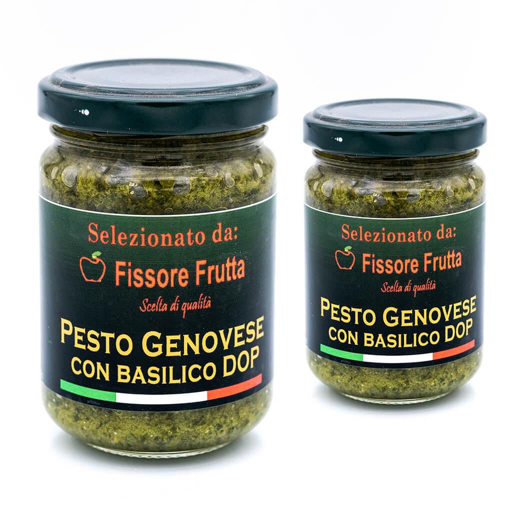 Pesto genovese con basilico DOP - Fissore Frutta Fronte