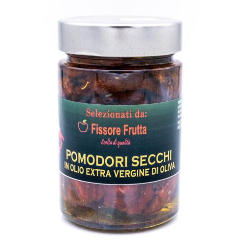 Pomodori secchi in olio extra vergine di oliva - Fissore Frutta