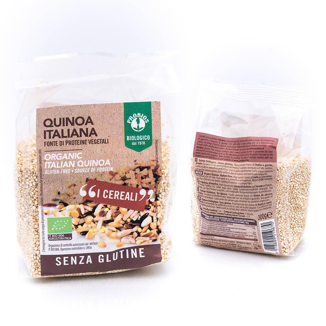 Quinoa italiana - Biologico - Probios Fronte