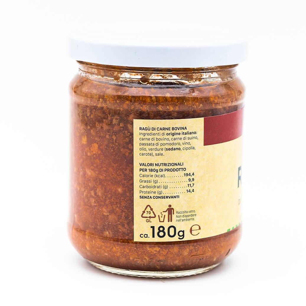 Ragù di carne bovina - Fea - Antica Salumeria