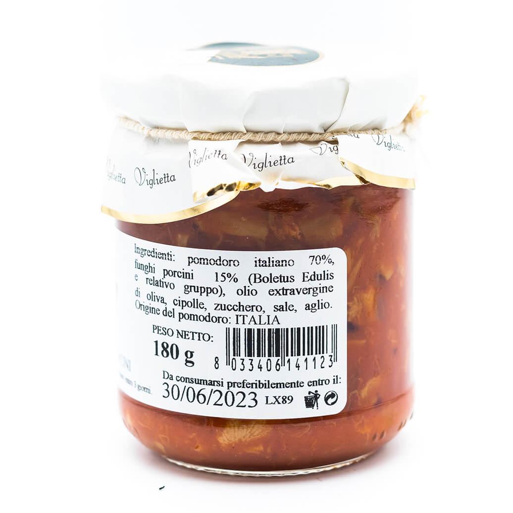 Sugo ai funghi porcini - Viglietta