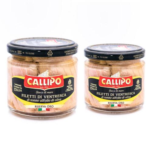 Ventresca di tonno in olio di oliva - Callipo