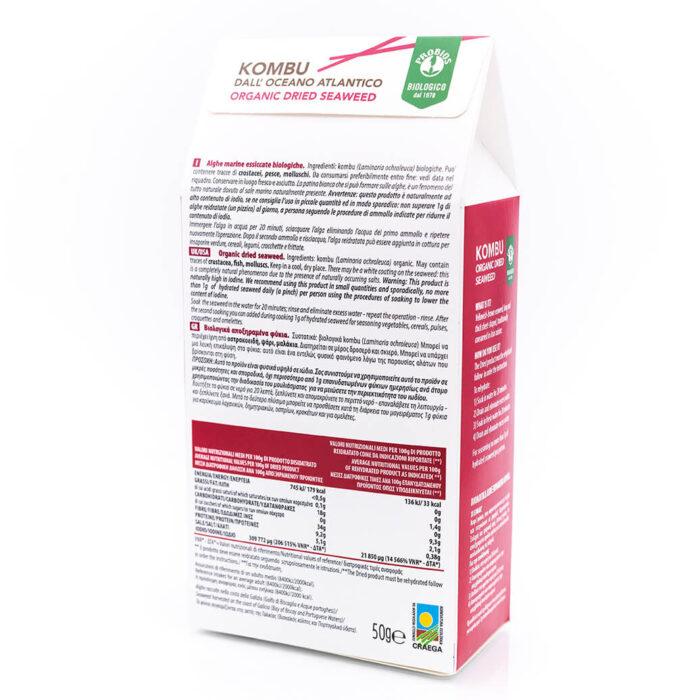 Alghe Kombu – Biologico – Dieta Macrobiotica – Probios