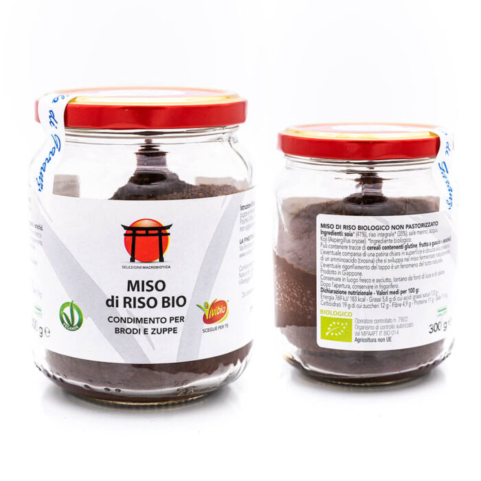 Miso di riso – Biologico – Dieta Macrobiotica – Vivibio