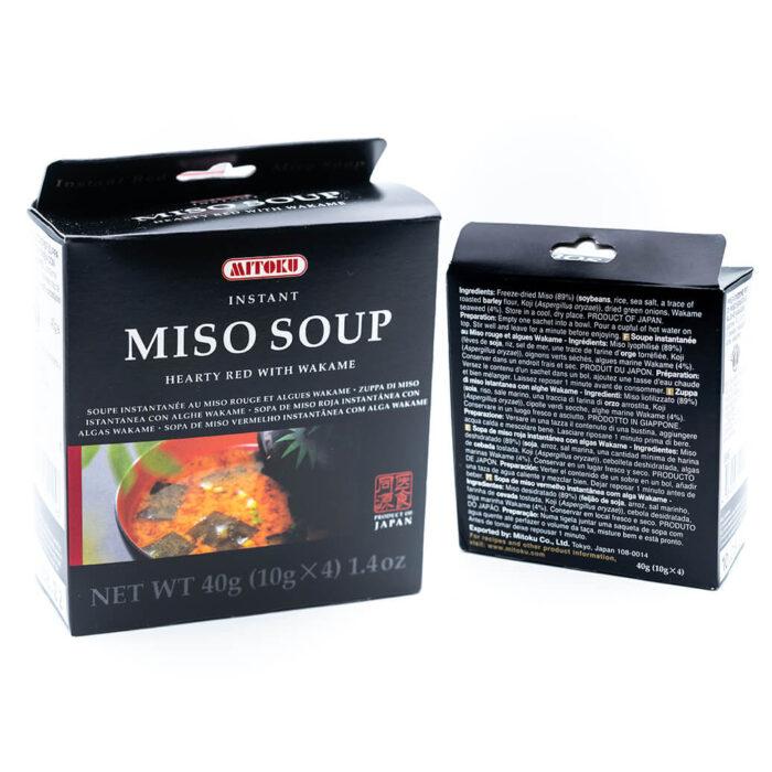 Zuppa di miso istantanea - Biologico - Dieta Macrobiotica - Mitoku